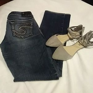 Buckle Silver Jeans